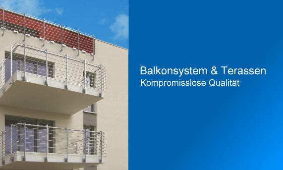 Balkon und Terrassen